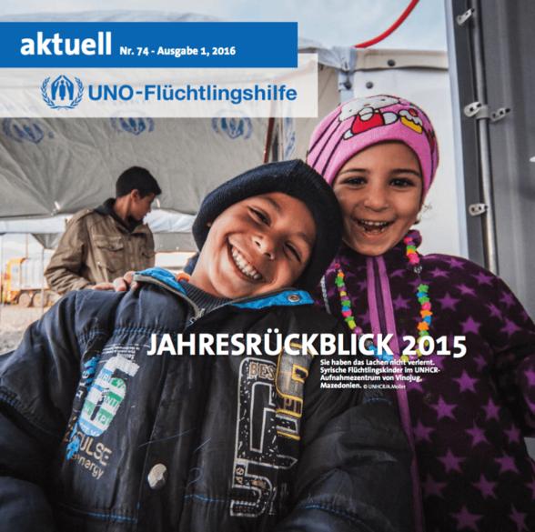 Flüchtlingshilfe aktuell 1/2016