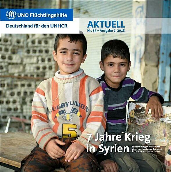 Flüchtlingshilfe aktuell 2/2018